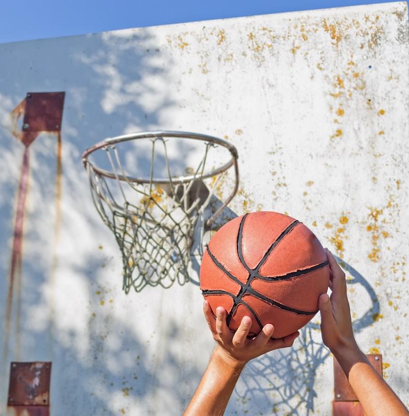 J'ai fais du basket au lycée