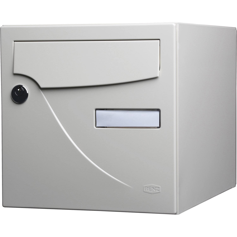 Plaque boite aux lettres : choisir plutôt une teinte correspondant à votre maison